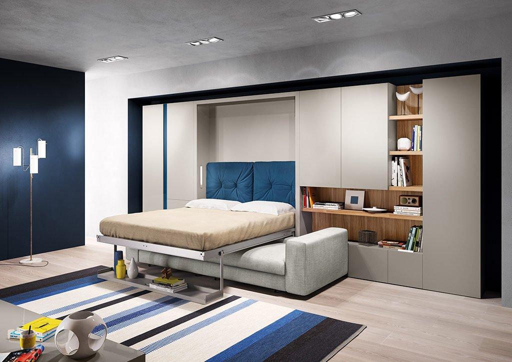 Кровать-шкаф трансформер