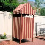 Садовый душ из тента