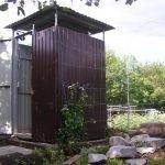 Садовый душ своими руками
