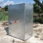 Алюминиевая емкость для летнего душа