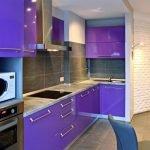Фиолетовая мебель