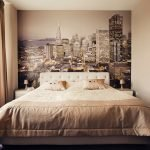 Фотообои в спальне