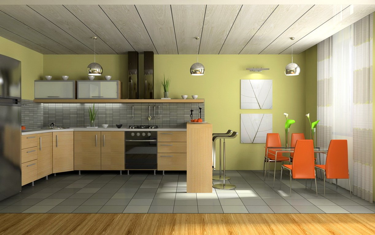 Дизайн интерьере кухни