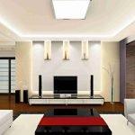 Идеи дизайна потолка в гостиной