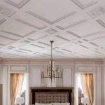 Полиуретановые панели для потолка