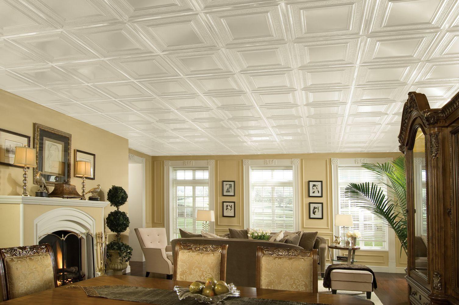 Панели для потолка из пластика