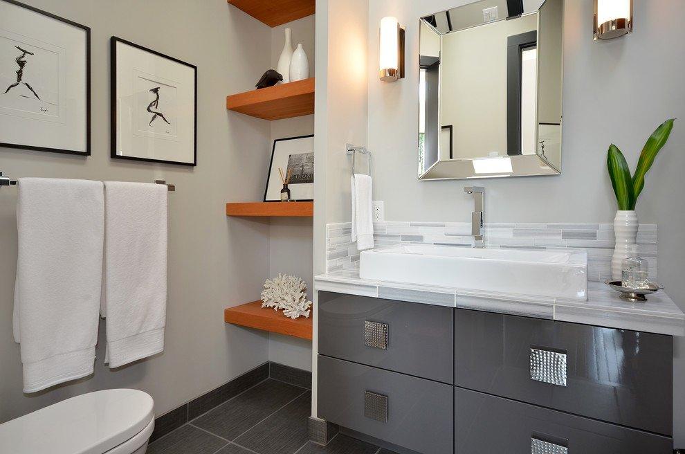 Система хранения вещей в туалете