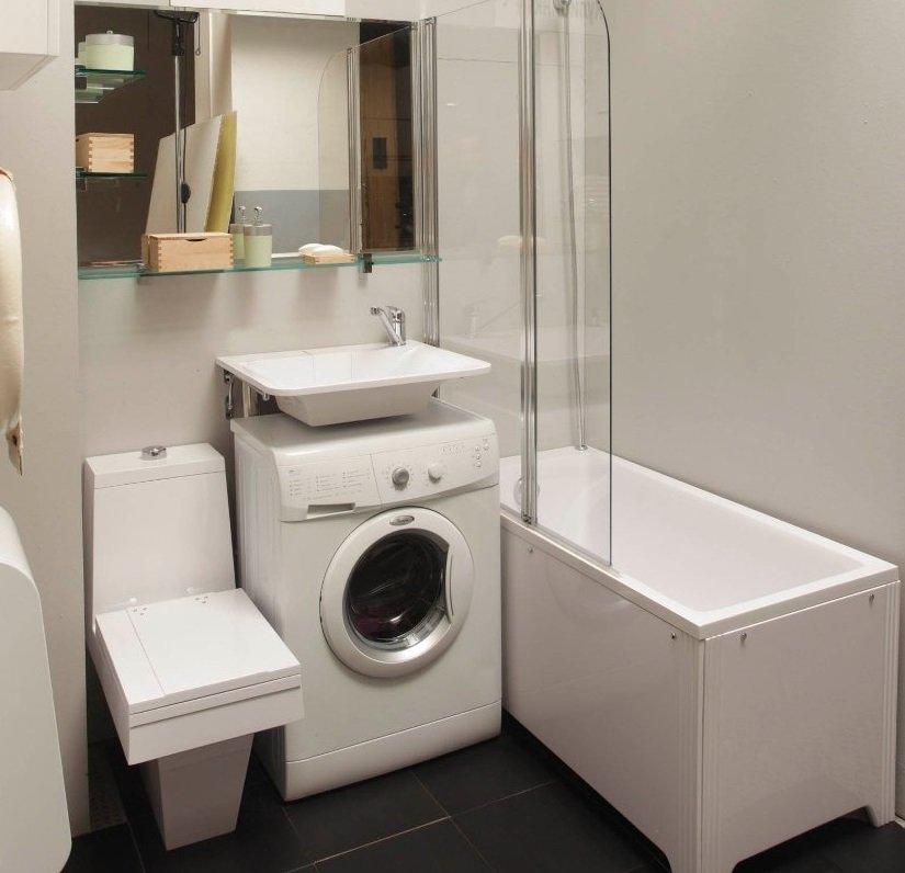 Совмещенный санузел и ванная