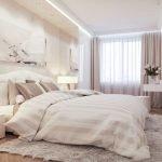 Нежная светлая спальня