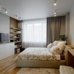 Светлые тона для оформления спальни