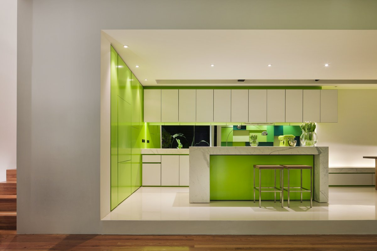 реализуются дизайн проекты кухни в зеленом цвете фото шоу впаривание изделий