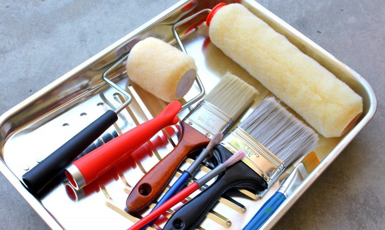 Инструменты для покраски дерева