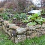 Ограда из натурального камня