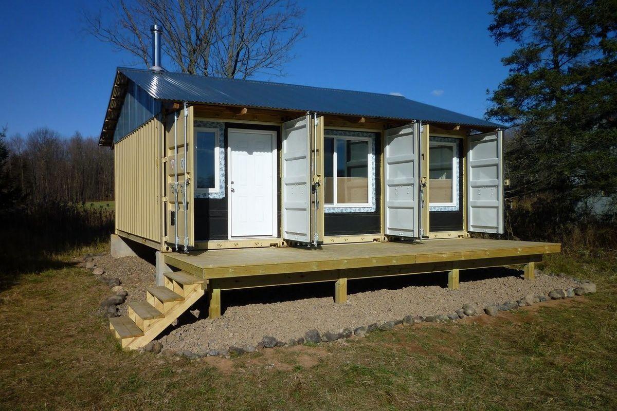 Дачный домик из контейнеров