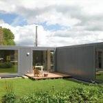 Одноэтажный дом с мастерской