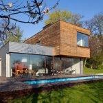 Дом из контейнеров в хай-тек стиле