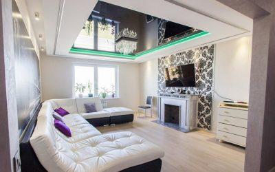 Двухуровневые потолки — как сделать