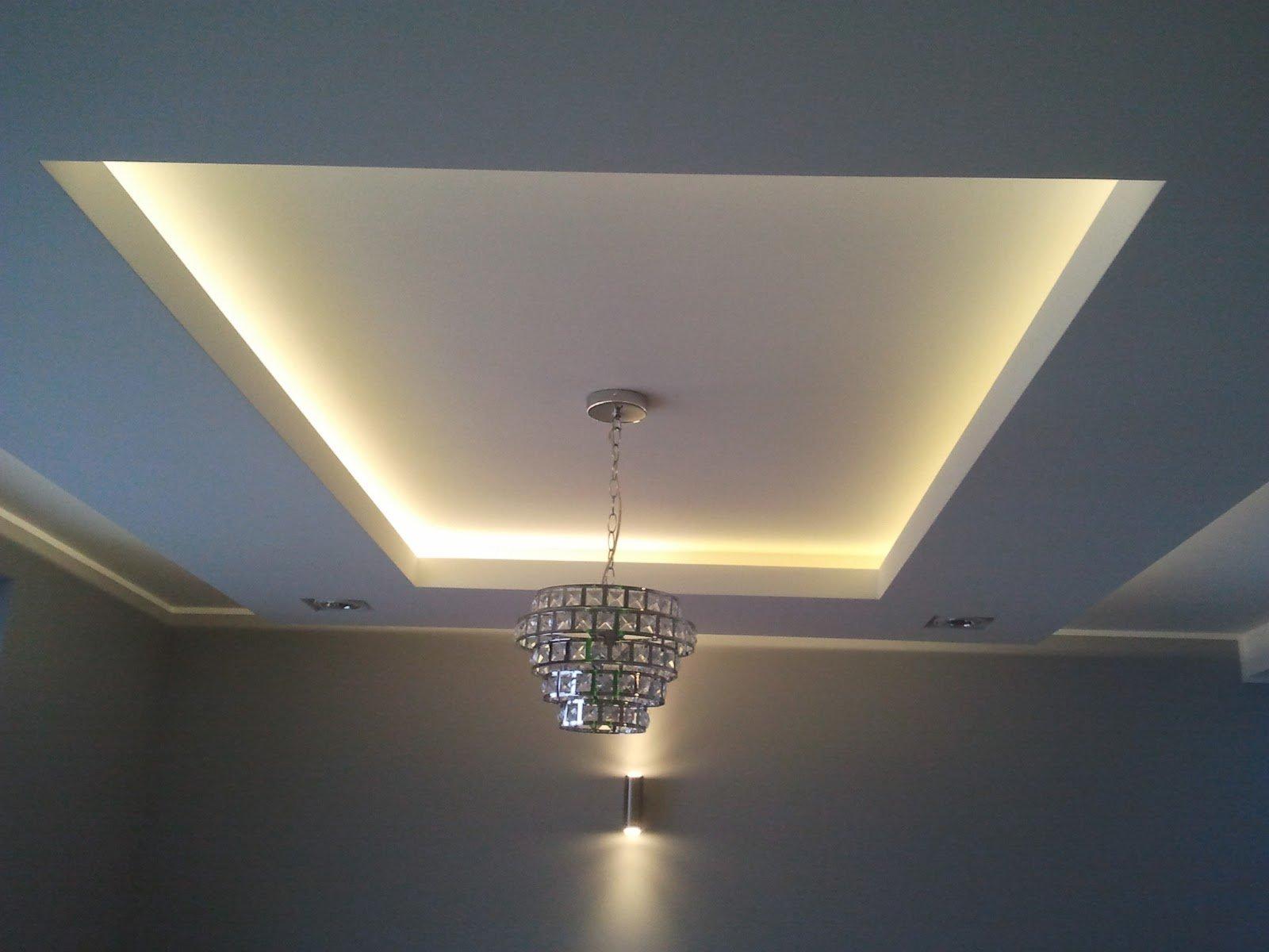 потолок из гипсокартона картинки