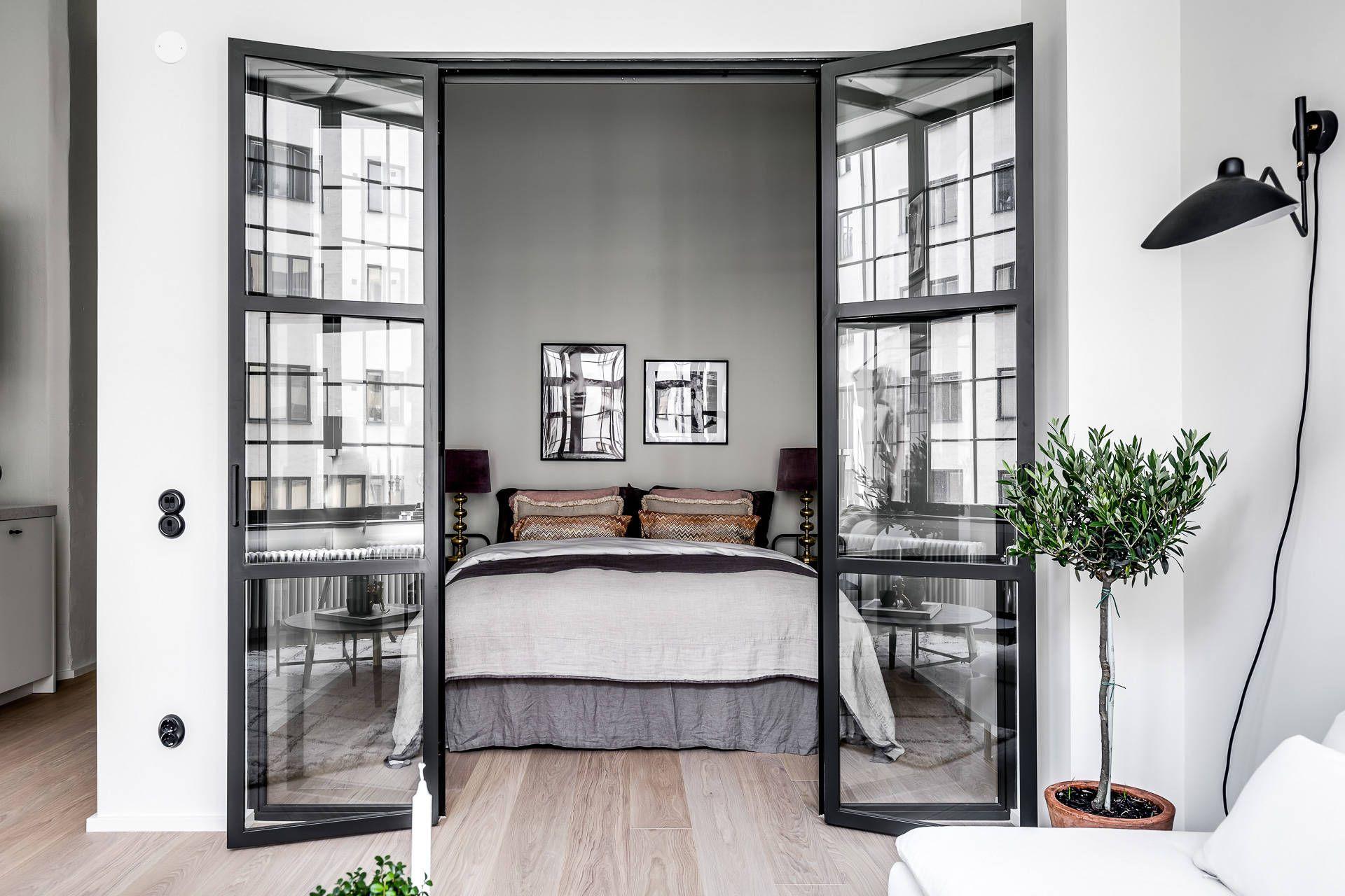 Гостиная-спальня в стиле минимализм