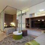 Декор однокомнатной квартиры