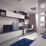 Меблировка гостиной в современном стиле