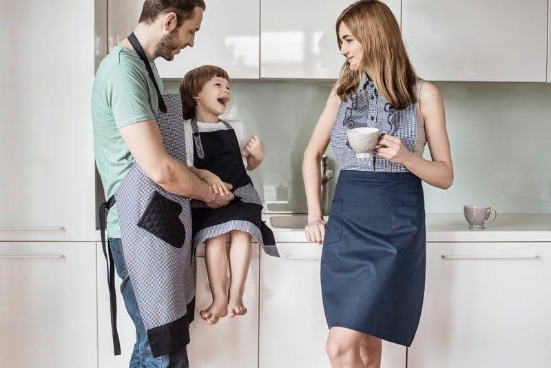 Фартуки для семьи