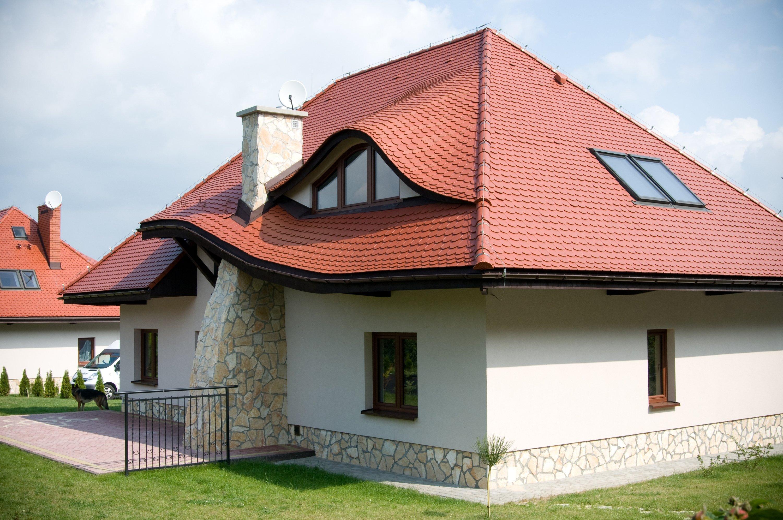 Крыша с черепицей