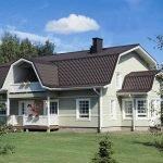Крыша в доме