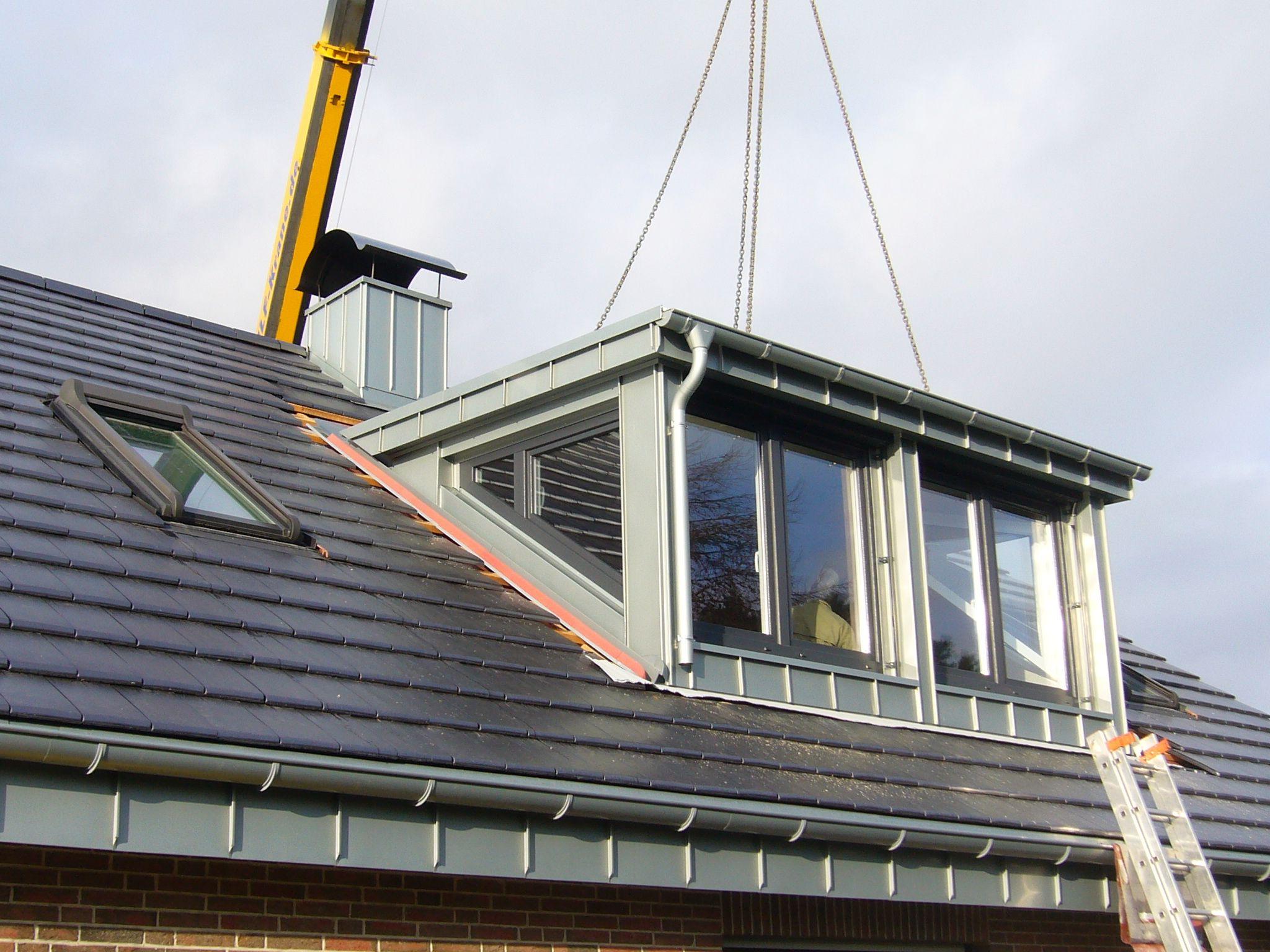 Крыша с выносными консолями