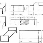 Чертежи картонной мебели