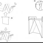 Чертежи изделия картонной мебели