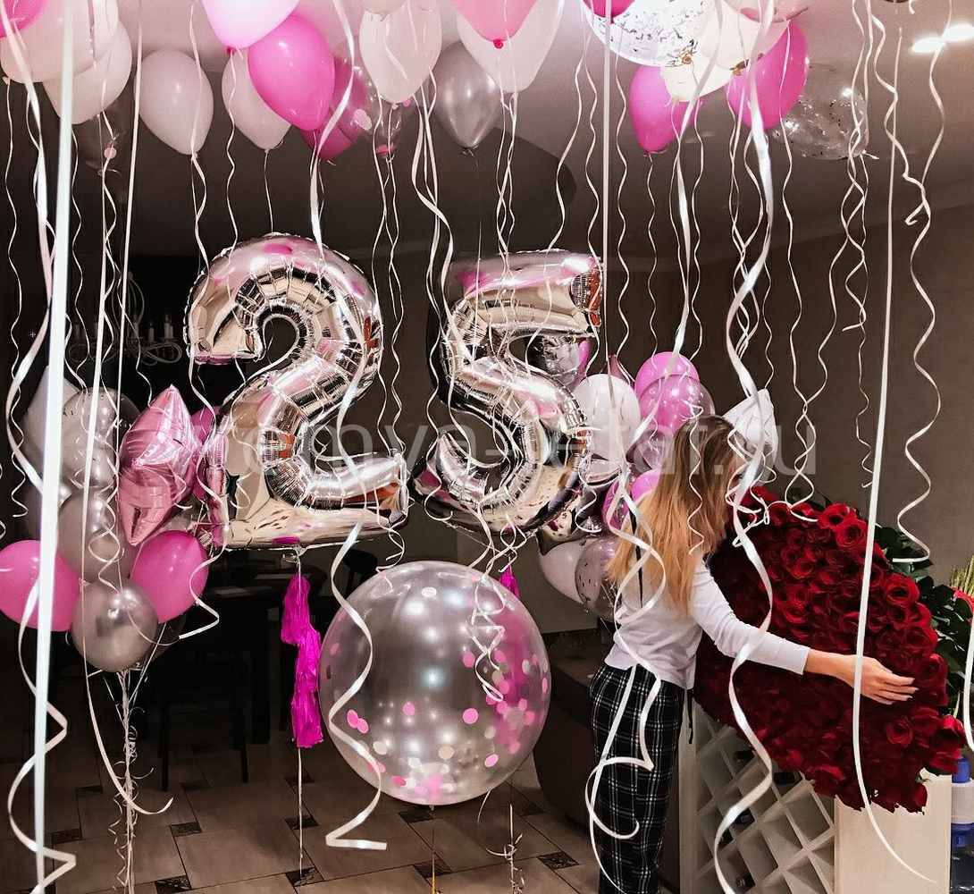 Оформление шарами дня рождения