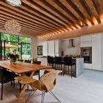 Реечный потолок в интерьере
