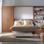 Выкатная встроенная кровать