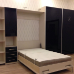 Встроенная кровать в интерьере