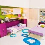 Откидные кровати в детской