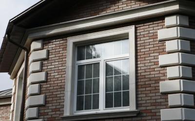 Отделка наружных откосов на окнах