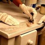 Подготовка комода к покраске