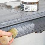 Многослойное окрашивание мебели
