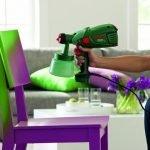 Покраска стула кроскопультом