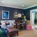 Пианино в гостиной