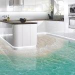 3Д полы на кухне