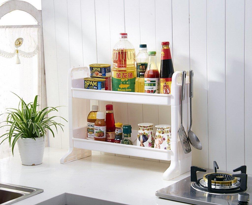 Пластиковые полки на кухню