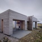 Одноэтажный дом в стиле минимализм