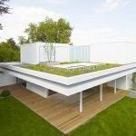 Озеленение плоской крыши