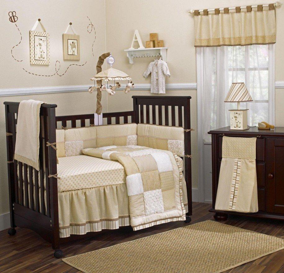 Детская кроватка из ДВП
