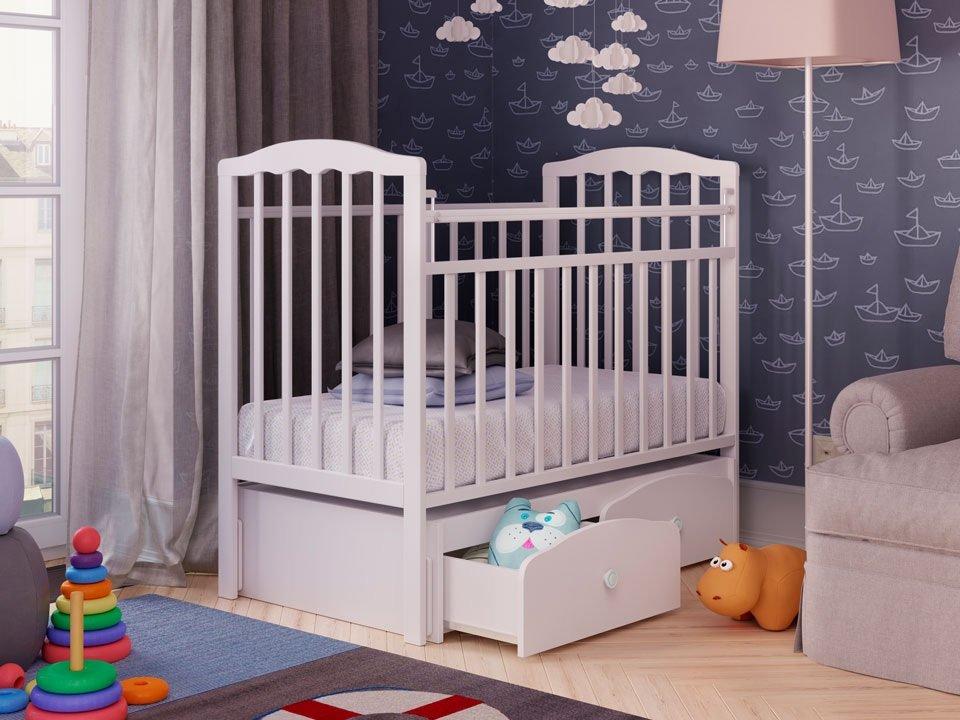 Кроватка для ребенка от 0 до 3 лет