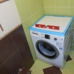 Монтаж стиральной машинки