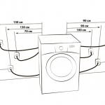 Схема подключения стиральной машинки