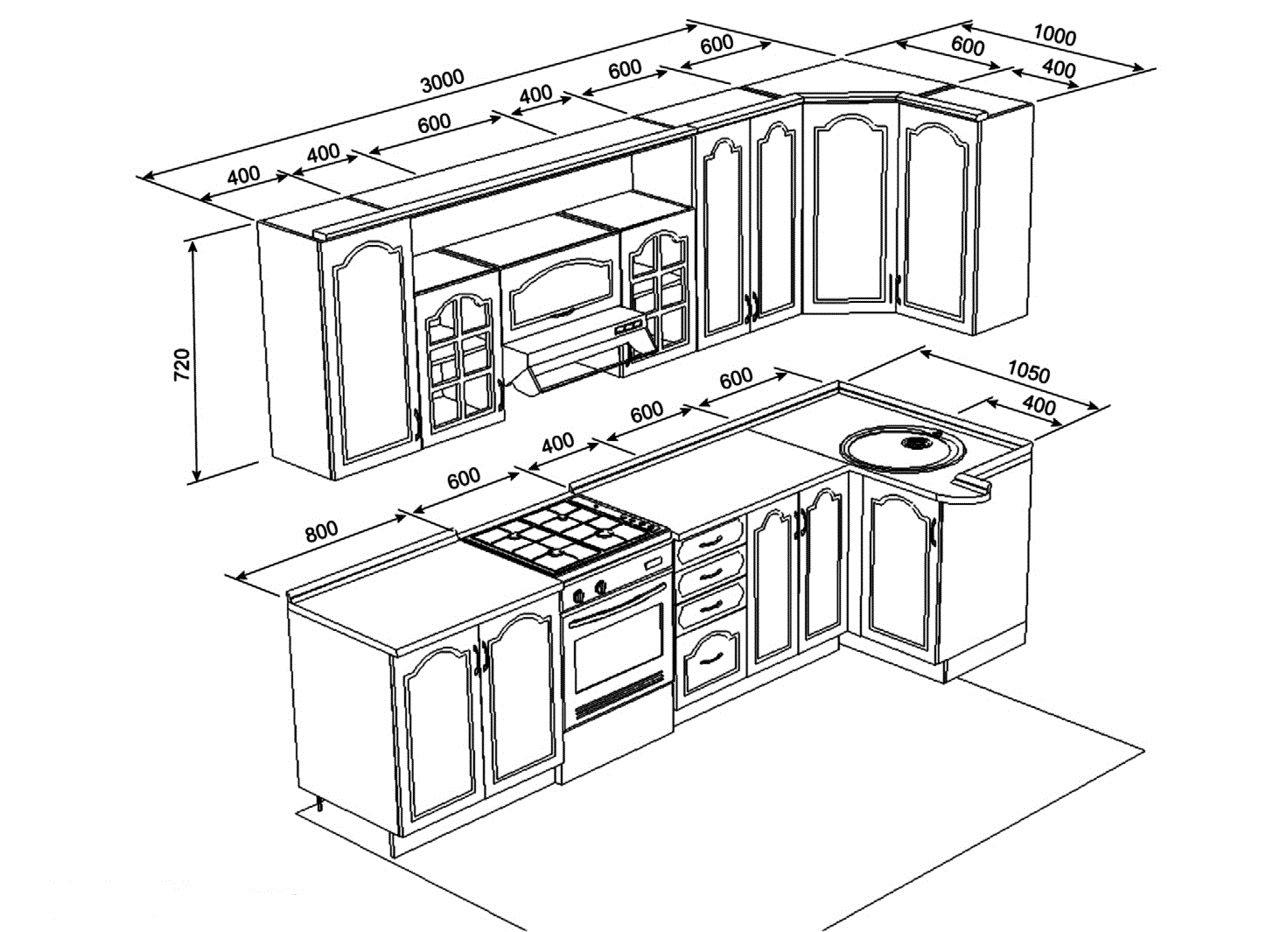 Проект навесных шкафов